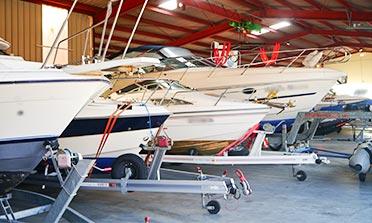 Hallenplätze für Ihr Boot bei Frankenboot