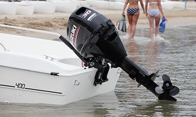 Verkauf und Service für Bootsmotoren bei Frankenboot
